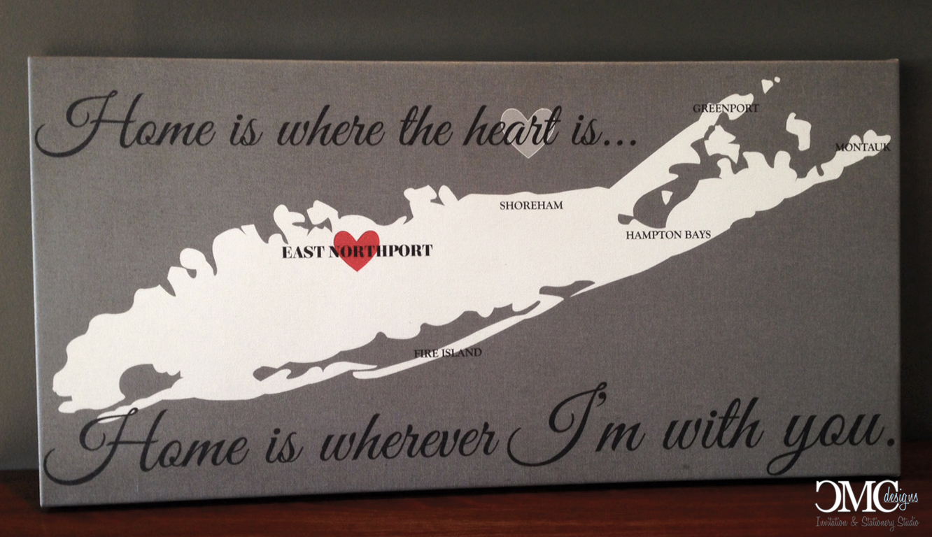 Custom Long Island Canvas