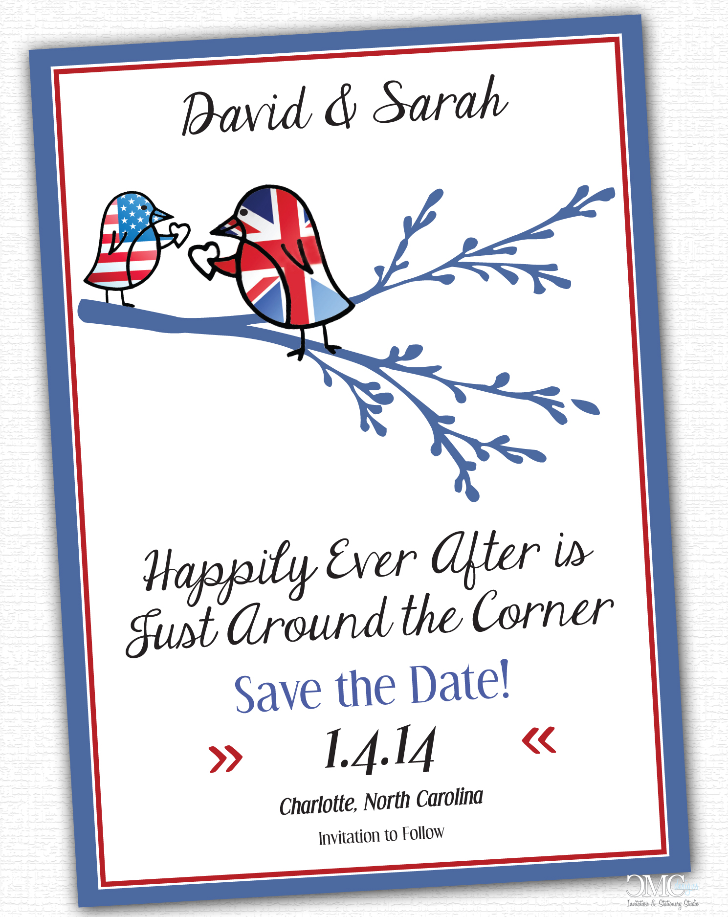 British/American Wedding Designs | Christi Marie Creative